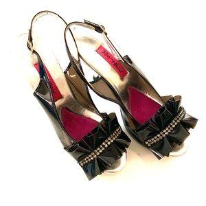 Betsey Johnson dressy heels, size 9